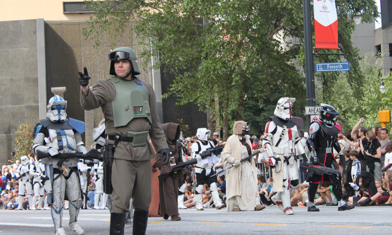 Cosplay, pub crawls, improv and family fun. May the Fourth be with you