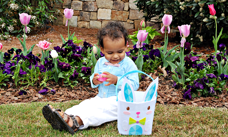 There are lots of eggcelent options for Easter family fun in Atlanta. (Joleen Pete)