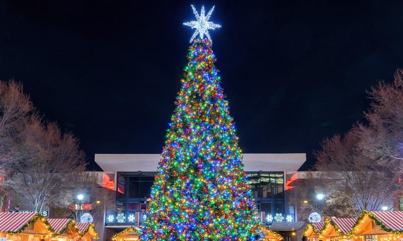 Kick off the holiday season with the Christmas Tree Lighting at Atlantic Station. (2017, Gene Phillips)