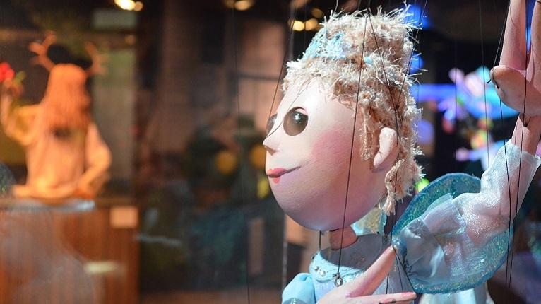 Princess Puppet at Center for Puppetry Arts in Atlanta GA