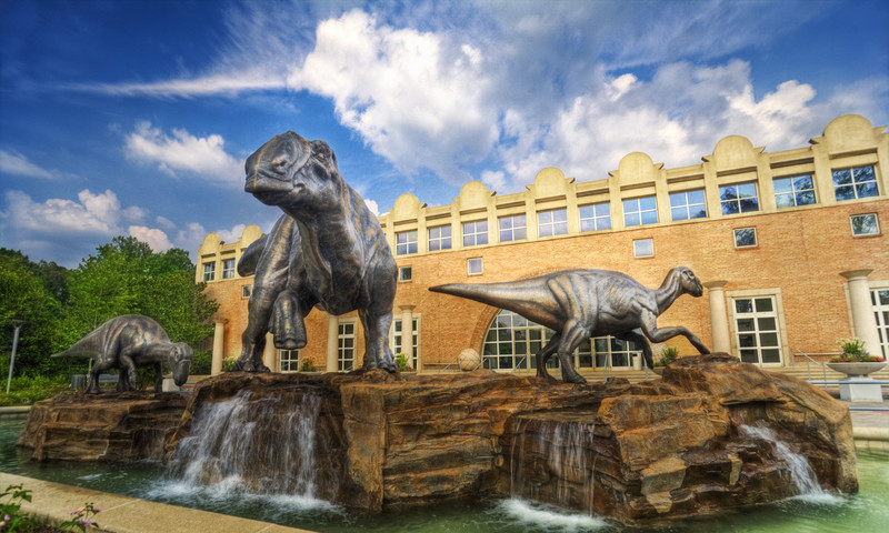 Fernbank Museum of Natural History is of one of several Atlanta museums with new spring exhibits.