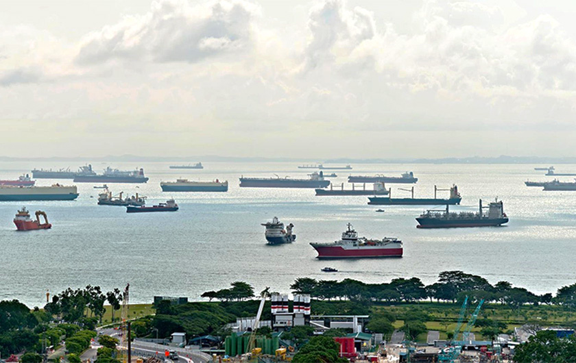 メインビジュアル : AIで船舶衝突リスクを予測 船舶、人、港湾をより安全に