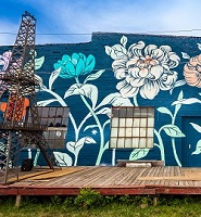 Mural on Atlanta Beltline