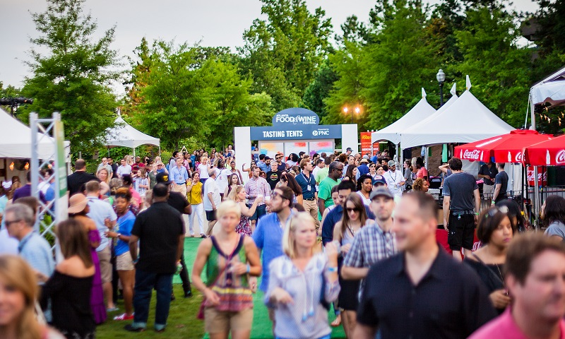 Atlanta Food & Wine Festival draws great crowds to discover Southern cuisine.