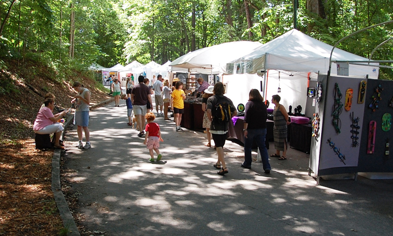 The Chastain Park Arts Festival is one of the best in the country, with esteemed artists and artisans.