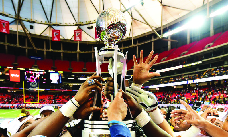 The Celebration Bowl arrives at the Georgia Dome this weekend.