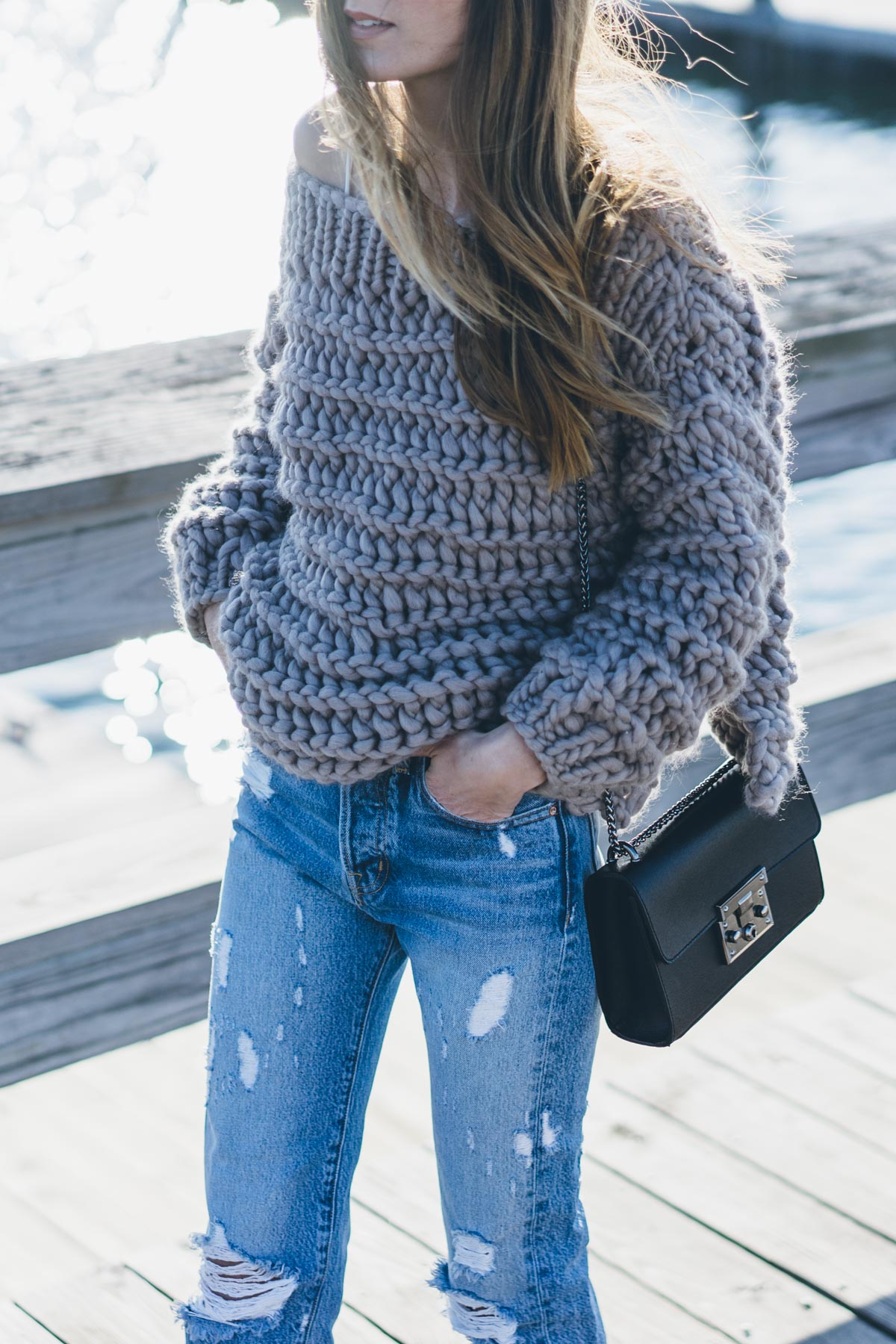 daa991b58 The-Third-Piece-Carina-Chunky-Knit-Sweater-AYR-. Credit  Jess Ann Kirby