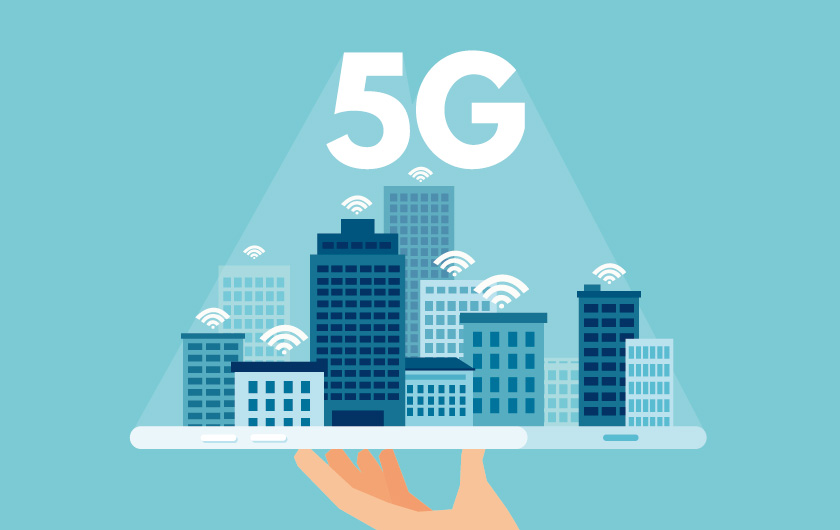 Main visual : What Is 5G, the Next Generation Wireless System? No More Wi-Fi or Wired LAN? Local 5G May Replace In-House Networks