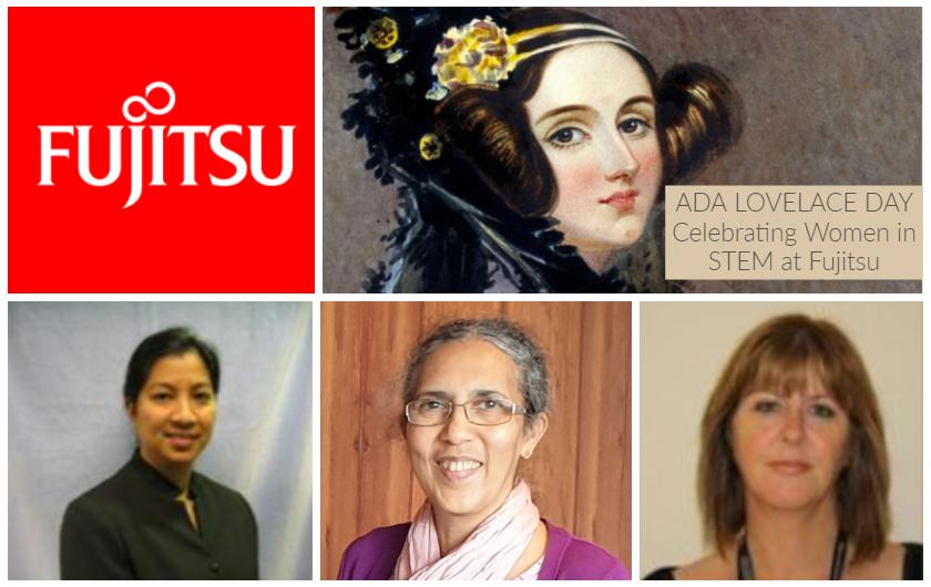 Main visual : Finding Ada… Celebrating Women in STEM at Fujitsu – Part 1
