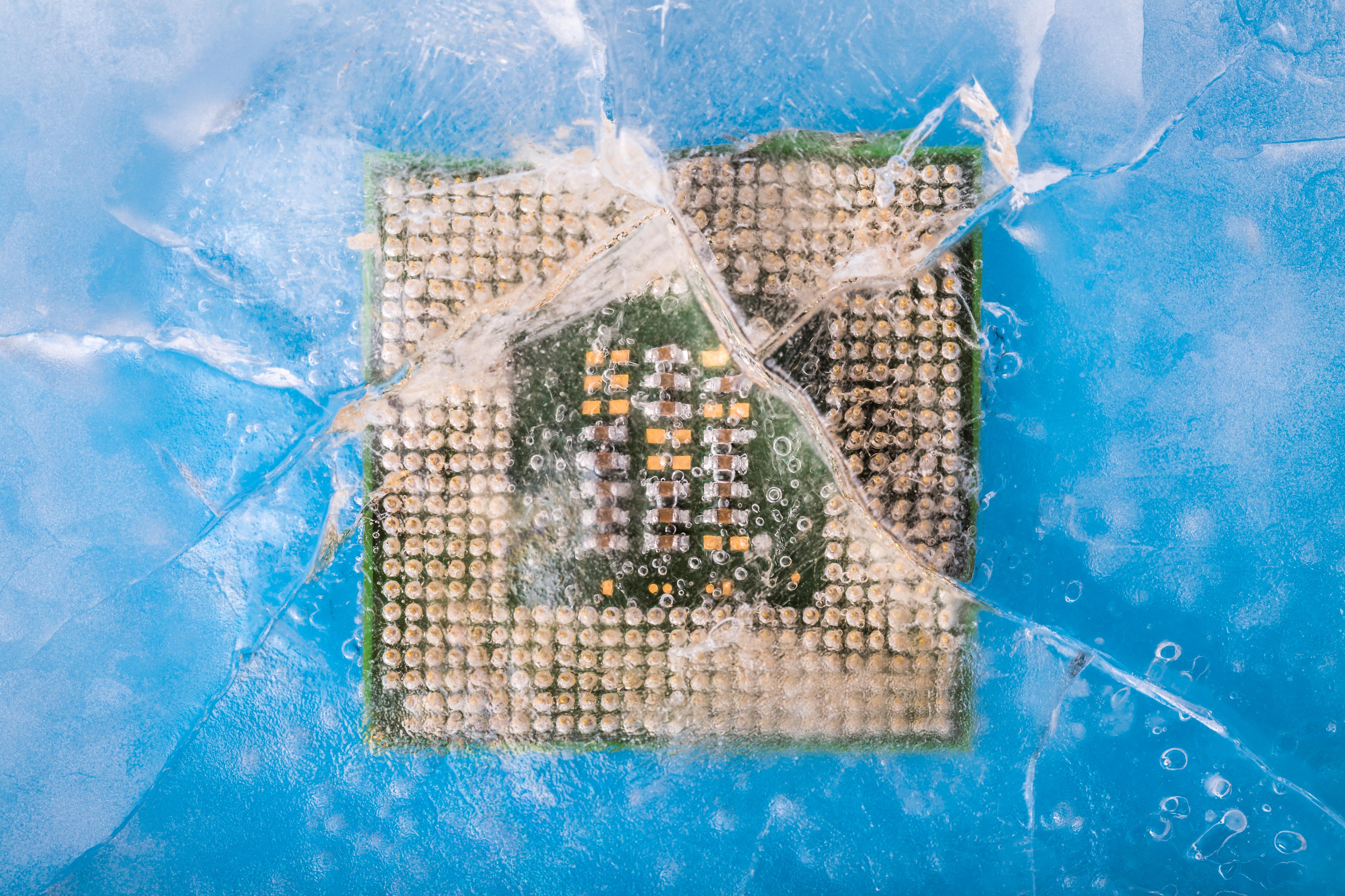Frozen micro chip