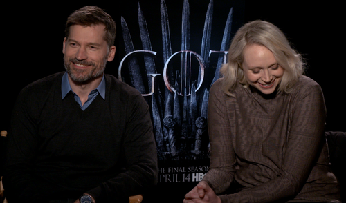 Rapid (Ice and) Fire with the cast of Game of Thrones!