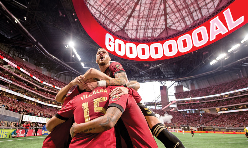 Catch Atlanta United fever at Mercedes-Benz Stadium. (Kyle Hess)