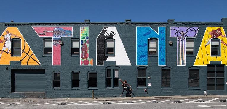 Atlanta Downtown Mural