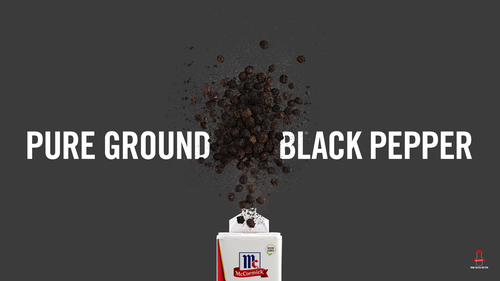 Flavor Story: Pure Ground Black Pepper