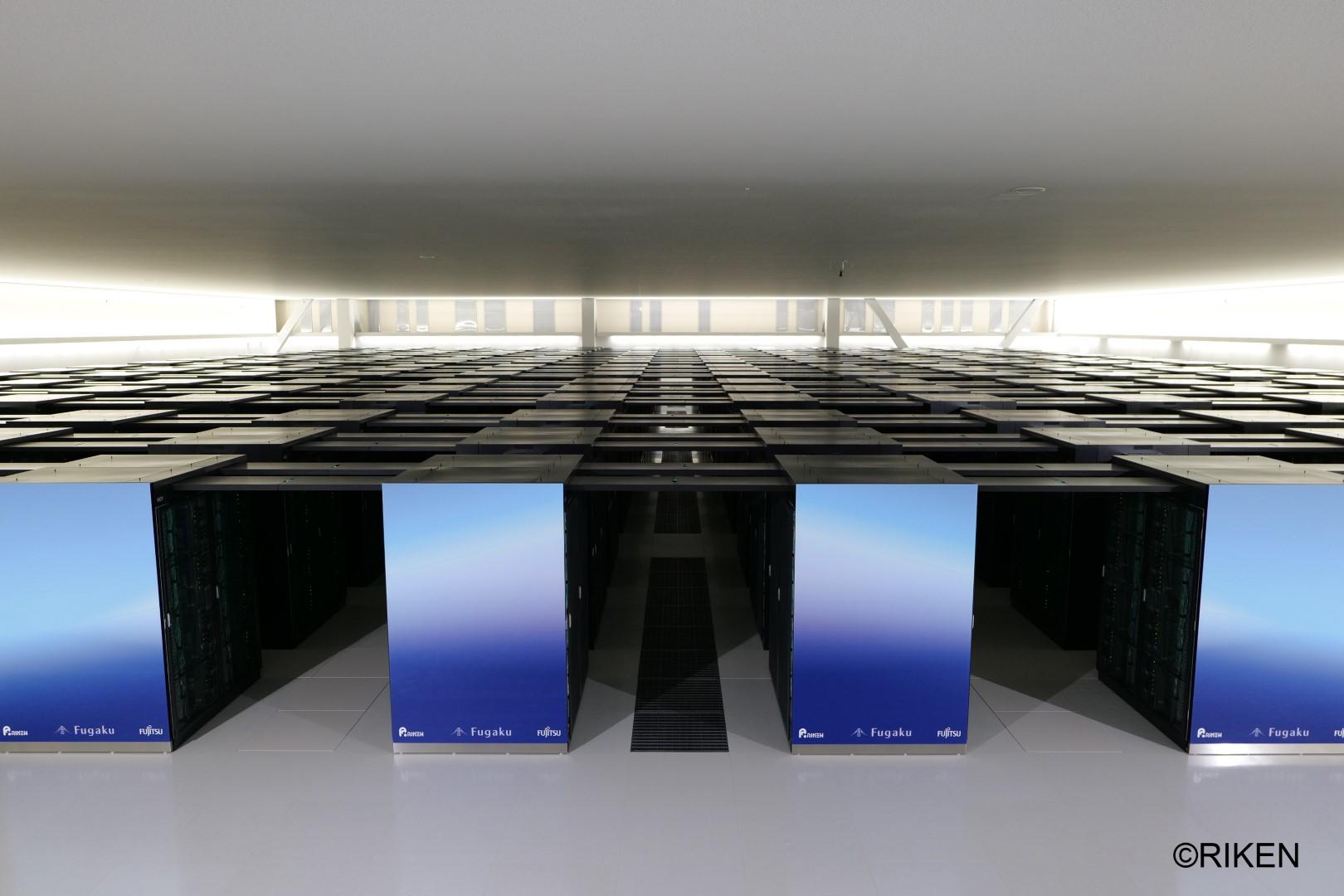 Main visual : Supercomputer Fugaku Named World's Fastest