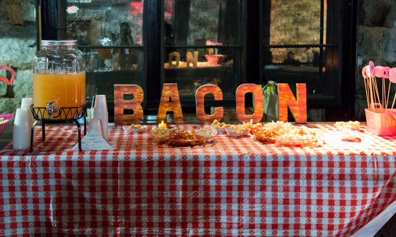 An entire festival dedicated to bacon. Yes. (image courtesy BaconFest)