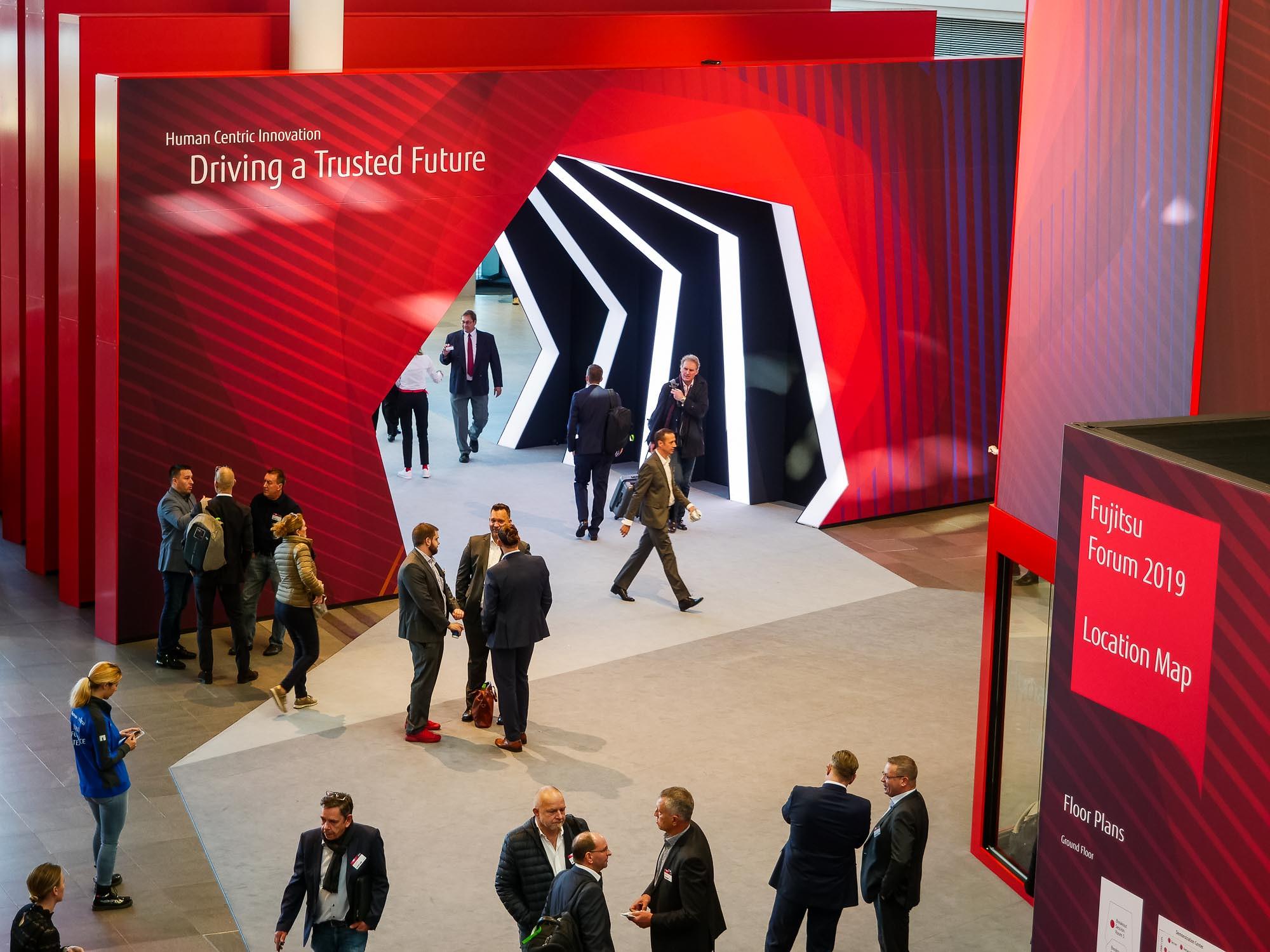 Main visual : How to drive your trusted future - Fujitsu Forum Munich 2019