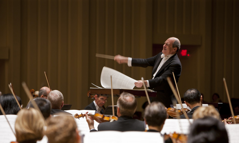 Grammy Award-winning conductor, pianist, and composer, Robert Spano, leads the Atlanta Symphony Orchestra.