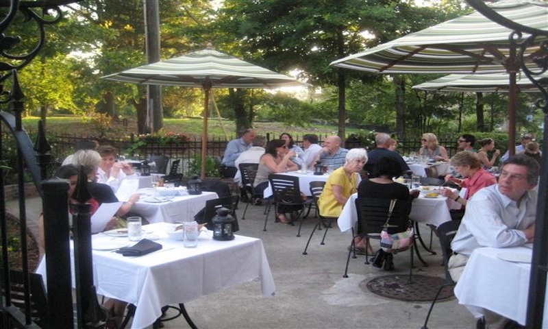 Haven's patio is a Brookhaven favorite.