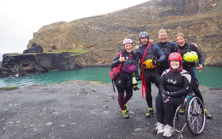 A wet and wild day out with Celtic Quest Coasteering