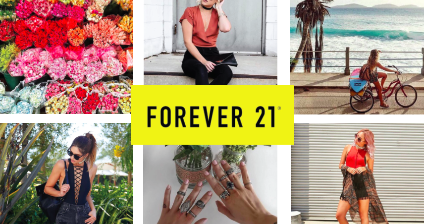 Forever 21 Brands as Publishers