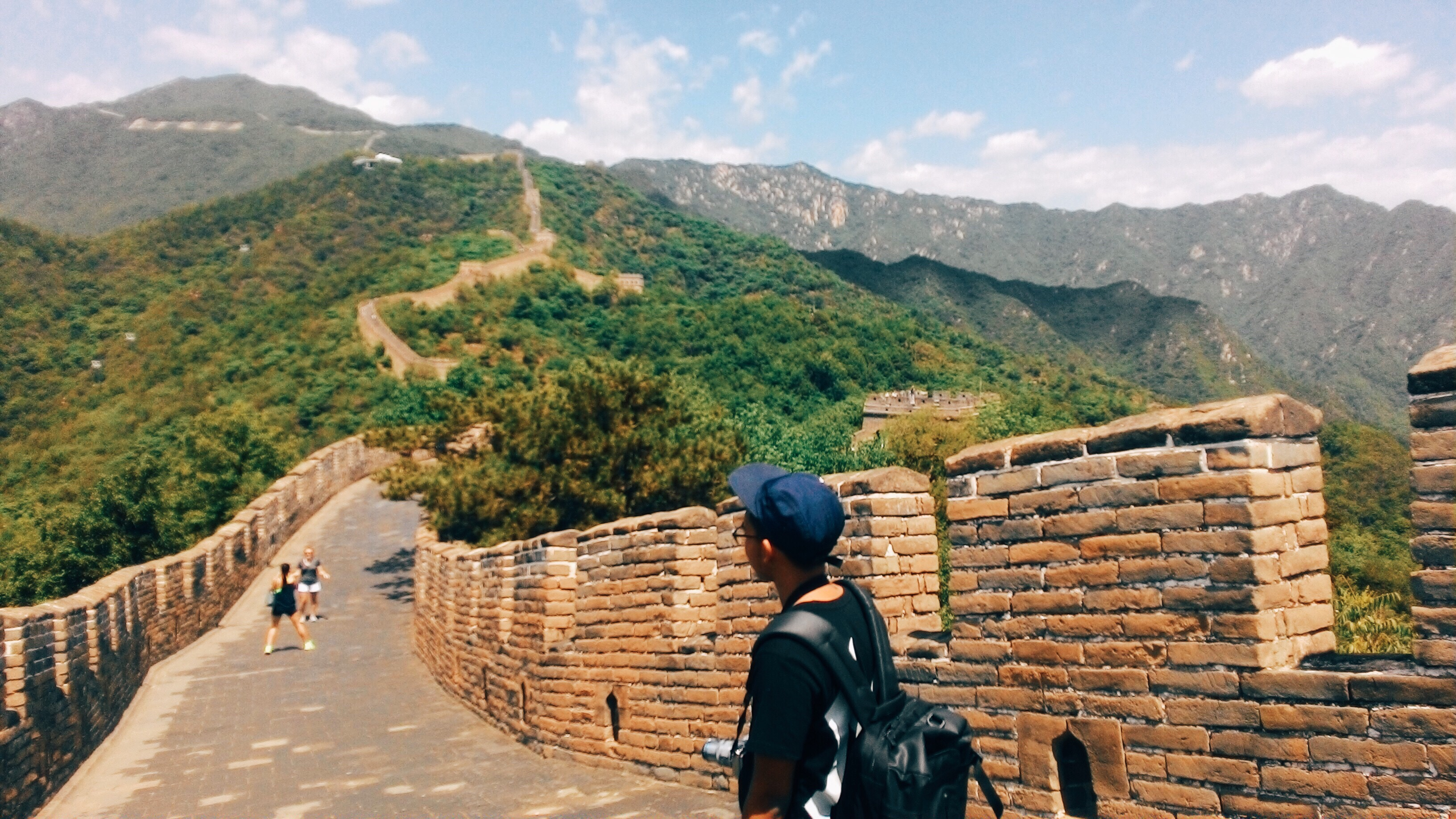 A day in The Great Wall.