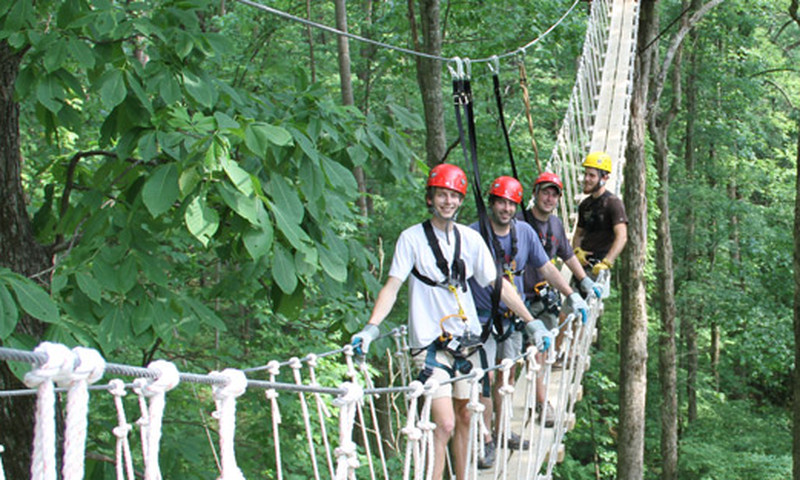 Enjoy the great outdoors at North Georgia Canopy Tours.