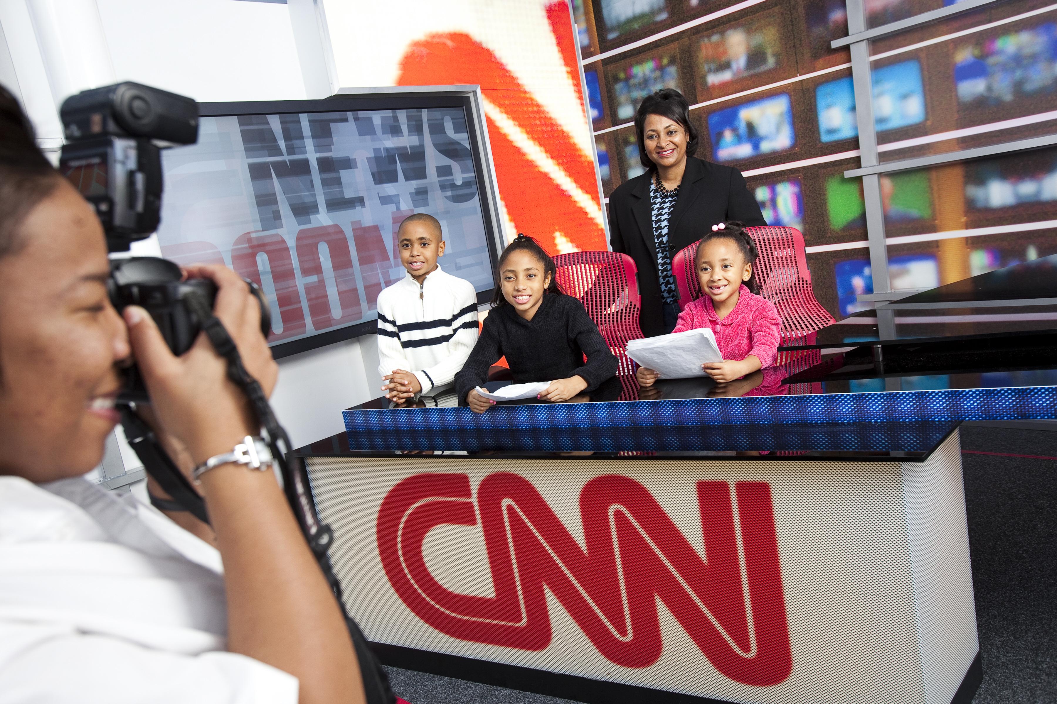 Atlanta-Inside-CNN-Studio-Tour-Newsroom