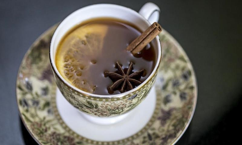 The Ritz-Carlton will warm you up as you sip seasonal drinks in luxurious surroundings.