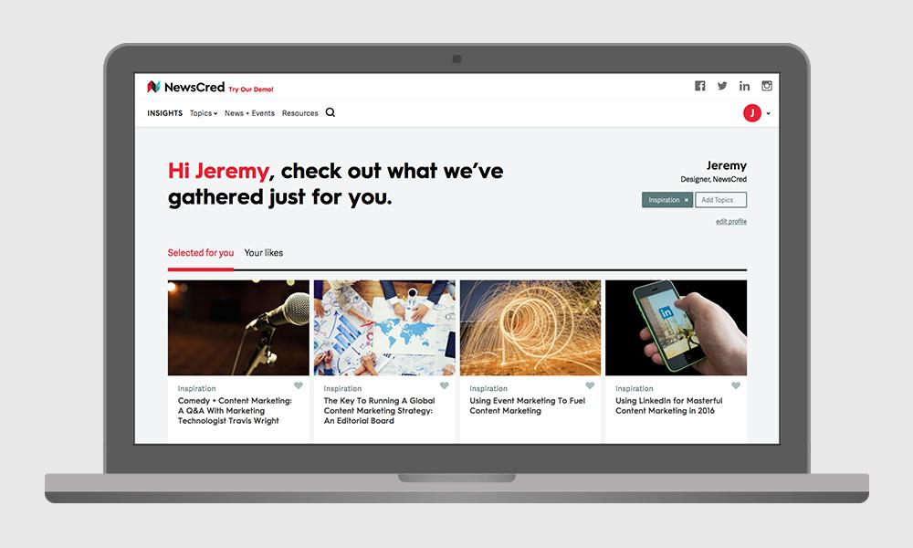 NewsCred insights