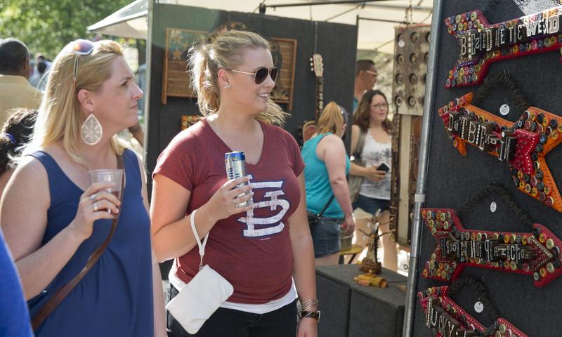 Shop till you drop at the Atlanta Dogwood Festival.