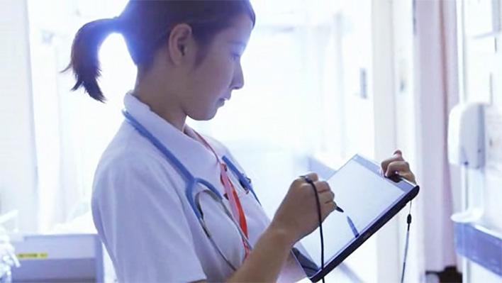 メインビジュアル : 大規模医療機関向け、Web型電子カルテシステム「HOPE LifeMark-HX」販売開始