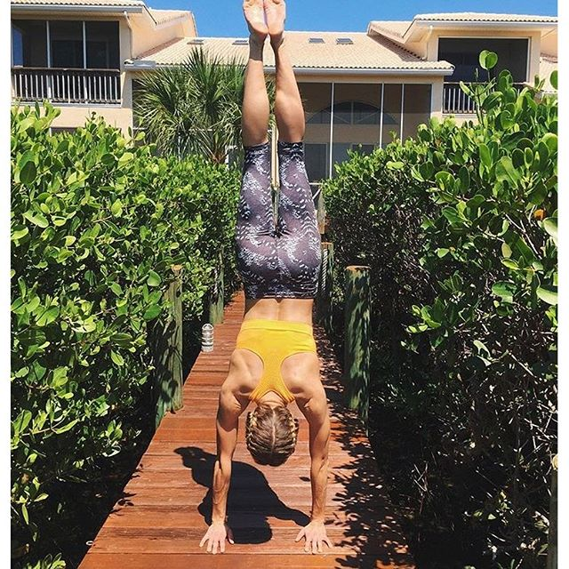 Yoga goals from @anovak4 in jockey #activewear! #mondaymotivation #yoga #liveinjockey