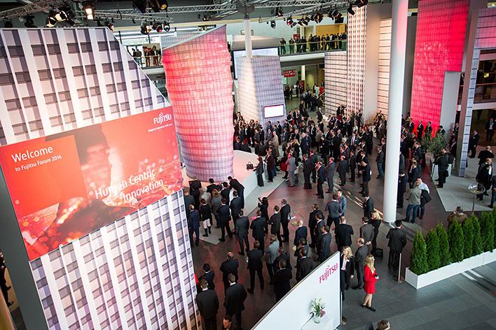 メインビジュアル : Fujitsu Forum 2014 Munichイベントレポート