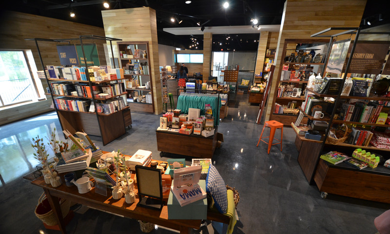The expanded Atlanta History Center gift shop is a treasure trove of souvenirs.