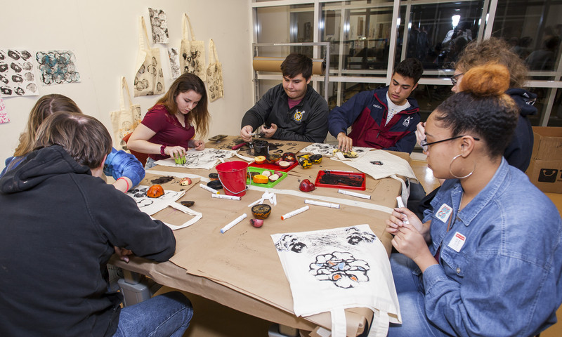 Create art at the High during Crafternoons. Just for teens. (Alphonso Whitfield)