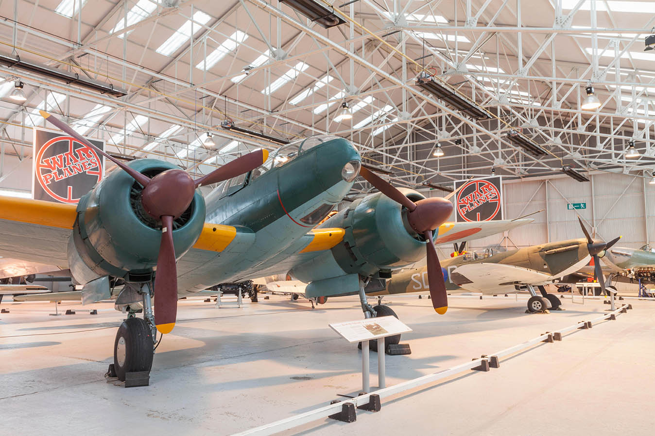 Aircraft at Cosford Museum