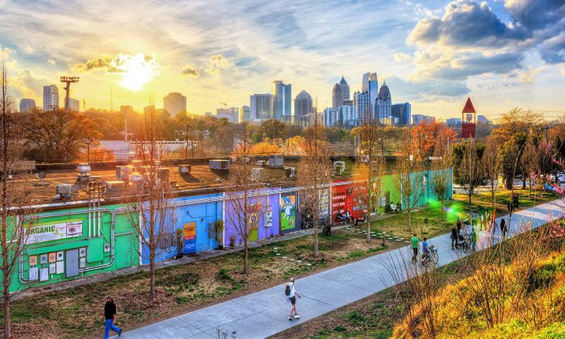 When it comes ot getting around Atlanta, you've got plenty options. (Gene Phillips, AtlantaPhotos.com)
