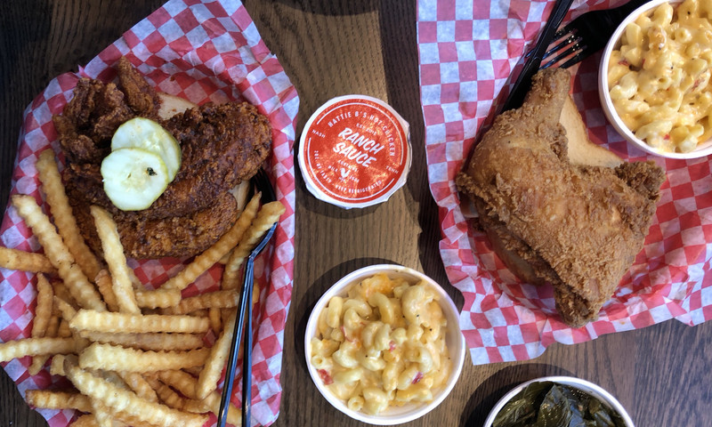 Hattie B's Hot Chicken is a sweat-inducing foray into the Nashville favorite right here in ATL.
