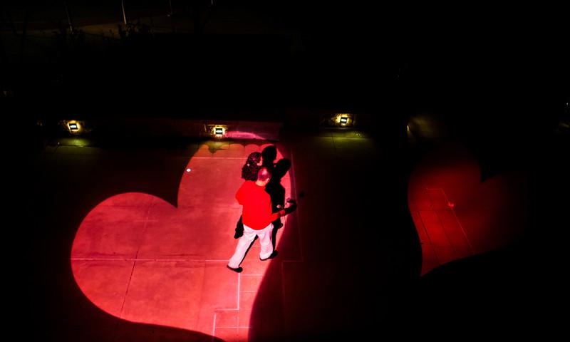 Dance like nobody is watching at Atlanta Botantical Garden.