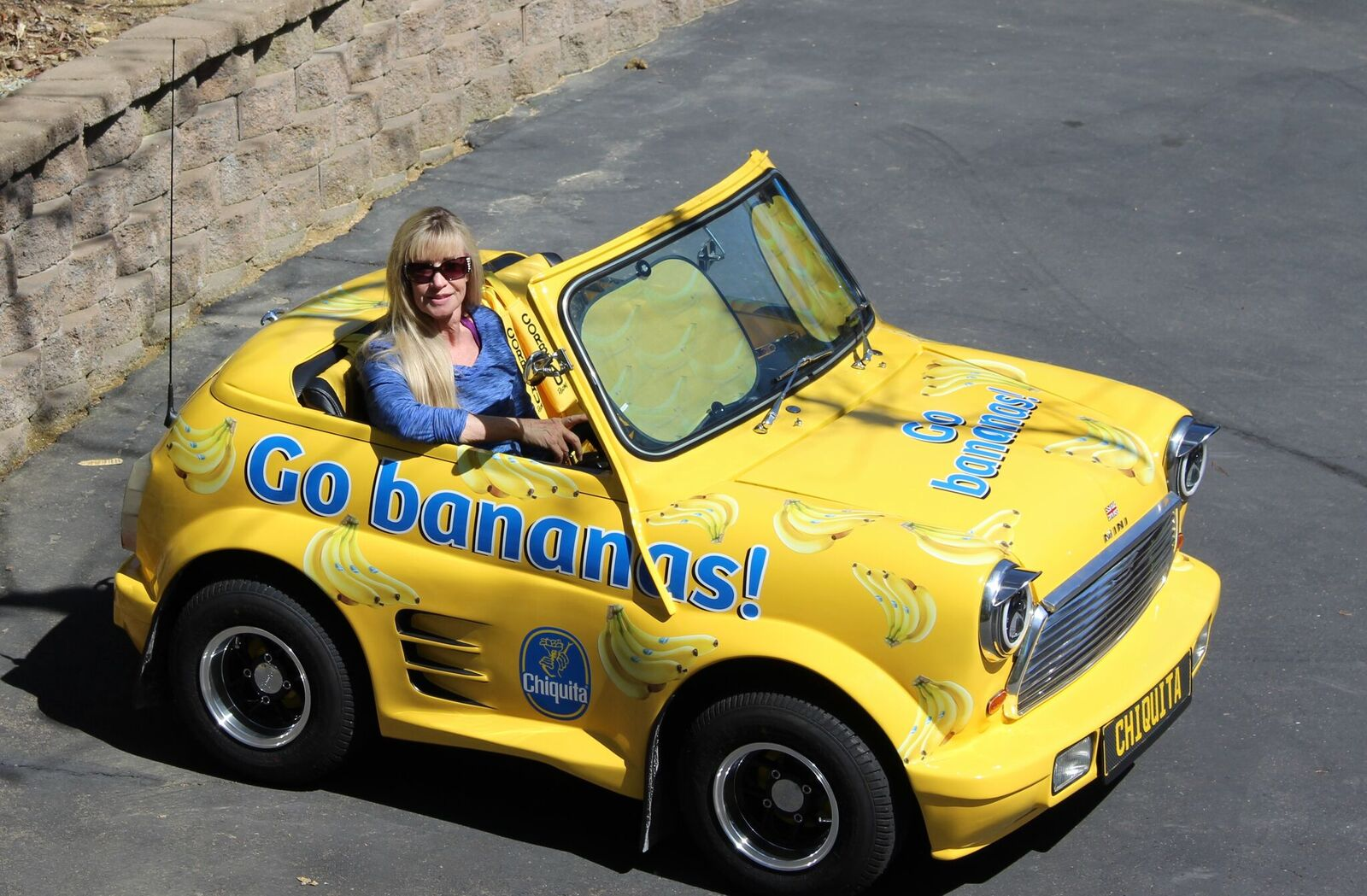 the Nelsons have plans to drive Chiquita to the International Banana Museum