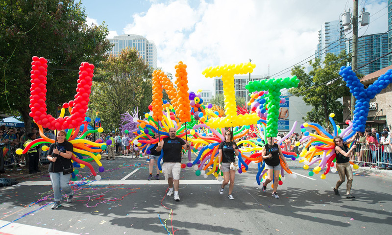 You've not had fun if you've not attended the Atlanta Pride Parades (there are three).