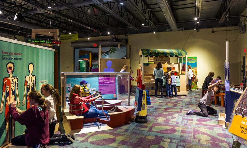 Learning and playing go hand in hand at the Children's Museum of Atlanta. (Heather Prescott Photography)