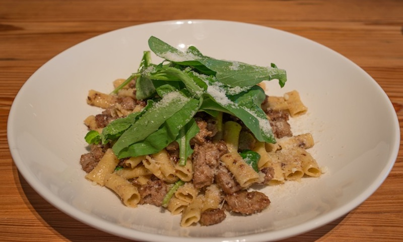 Pastas at Storico Fresco are phenomenal, but light salads are available, too.
