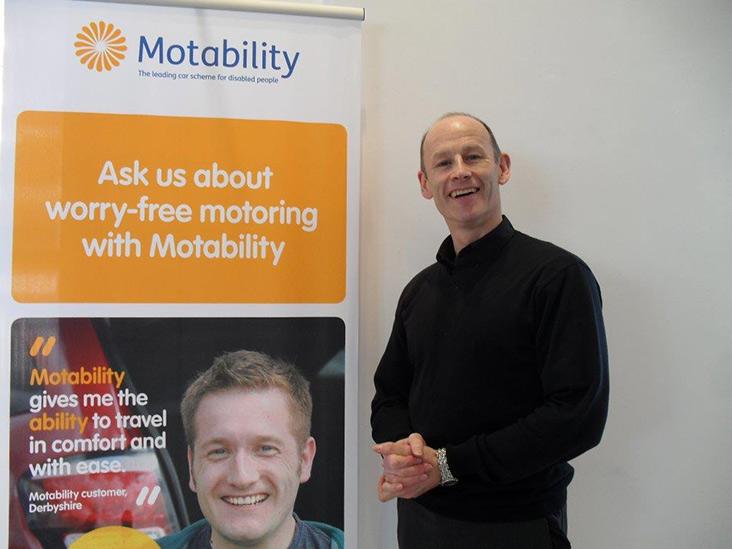 Motability Scheme specialist Jonathan