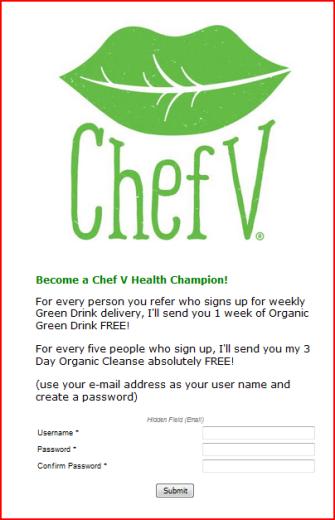 Chef V referral program sign up web form.png