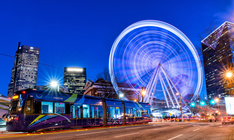How walkable is Atlanta for your meeting or convention group? Unbelievably. (📷 Gene Phillips, AtlantaPhotos.com)