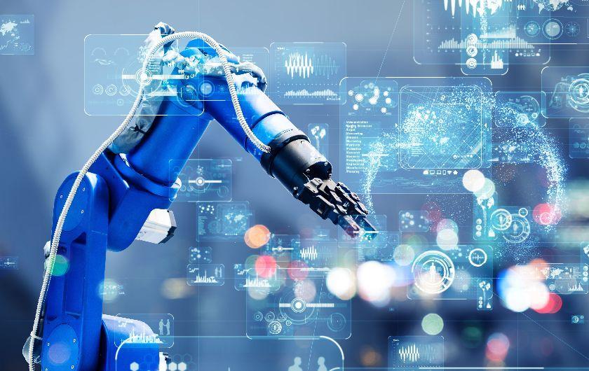 メインビジュアル : IoTとAIで実現するスマートファクトリー、製造現場にもたらす効果とは