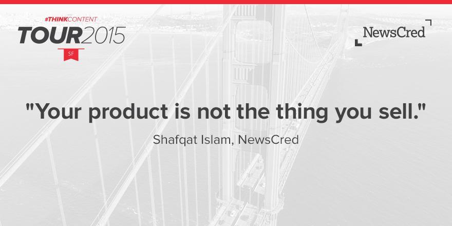 Shafqat Islam NewsCred #ThinkContent