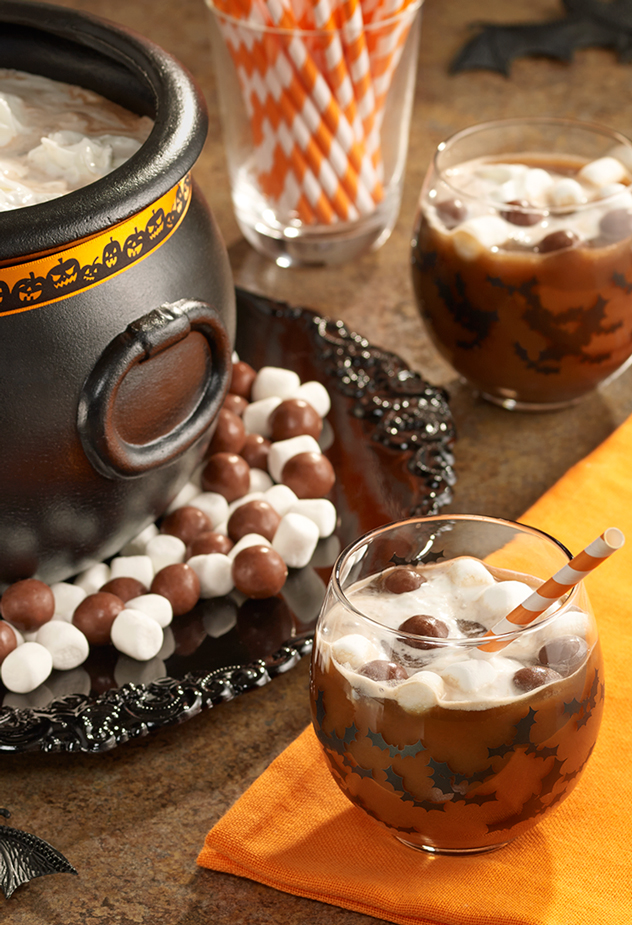 Witches' Brew Chocolate Punch Recipe